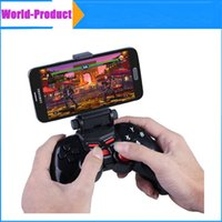 Wholesale Dobe TI Bluetooth Wireless Game Pad Controller Joystick with inch Clamp Holder For Android ios smart Mobile Phone Tablet PC