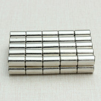 Wholesale 50pcs N52 Strong Neodymium Magnets Discs Cylinder Rare Earth x10mm