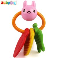 Wholesale Auby AUBAY genuine Teether rattle infant newborn baby toy free combination was BPA