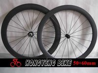 Wholesale Only g c carbon road tubular front mm and rear mm wheel with ceramic bearings hub