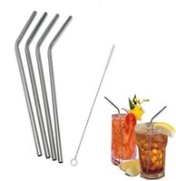 Wholesale YETI Tumbler Sip Well Stainless Steel Drinking Straws Set of Free Cleaning Brush Included