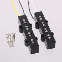 alnico pickup - SET JAZZ BASS GUITAR PICKUP FOR NECK POSITION ALNICO