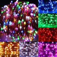 Wholesale 12V LED String Colors RGB Blue Red Green Pink Purple Cool Warm White M M M M M LED Light Strings