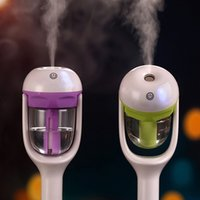 Wholesale On Sale V Mini Car Steam Humidifier Air Purifier Aroma Diffuser Essential Oil Diffuser Aromatherapy Mist Maker Fogger