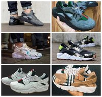 air brand shoes - 2017 New Style Air Huarache Running Shoes For Men Women High Quality Huaraches Famous Brand Custom Designer Sneakers Eur Size
