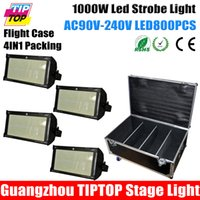 Wholesale Freeshipping in1 Flightcase Packing XLOT SMD Led Strobe Flash Light W Party Theater Professional Using Dancing Hall Club