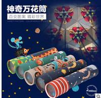 Wholesale Classic nostalgic toys children science experiments Kaleidoscope parent child interactive educational toys