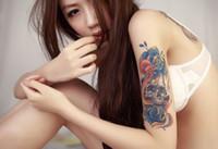 Compra Precio más bajo por mayor de china-Etiqueta engomada china del tatuaje del arte de la característica temporal para el ahorning, tatuaje del arte del cuerpo de Yincai del precio bajo Venta al por mayor, técnica de la impresión de la transferencia del agua
