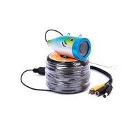 Wholesale Original M TVL Fish Finder Underwater Fishing quot Video Camera Monitor AntiSunshine Shielf Sunvisor Infrared IR LED