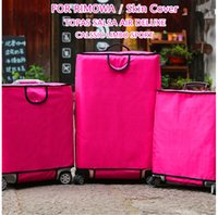 best designed luggage - Free shippin Latest design Nylon Oxford Protective cover for RIMOWA Luggage Best Fits rimowa Suitcase Protector all RIMOW series Rose red