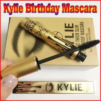 Wholesale 2016 Newest Kylie Jenner Mascara Magic thick slim waterproof mascara Black Eye Mascara Long Lasting Eyelash creams