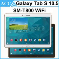 android tabs - Refurbished Original Samsung Galaxy Tab S SM T800 T800 inch Wifi Octa Core GB RAM GB ROM MP Camera Android Tablet PC