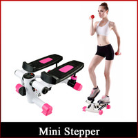 Wholesale 2016 Newest Arrival Mini Stepper Fitness Exercise Bike Mini Steppers Exercise and Fitness Supplies DHL freeshipping