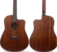 Wholesale Walnut wood guitar inch matte factory direct supply can be made according to the requirements of custom