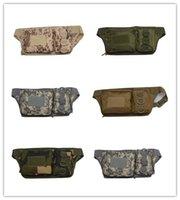 Wholesale 2016 Plus Tactical Molle Pouch Belt Waist Packs Bag Pocket Waist Fanny Pack Pocket Waterproof camouflage bag Messenger bag riding close bur