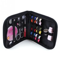 Wholesale DIY Needle Tape Scissor Multifunction Threads Sewing Kits Portable Useful Travel Home Tools