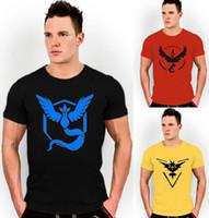 Wholesale New Six Color Mens T Shirt Slim Fit Crew Neck T shirt Men Short Sleeve Shirt Casual tshirt Tee Tops Team Mystic Mens Short Shirt