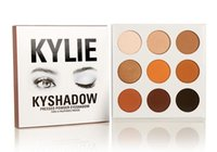 Wholesale In Stock Kylie Cosmetics Jenner Kyshadow eye shadow Kit Eyeshadow Palette Bronze Preorder Cosmetic Colors Makeup ePacket