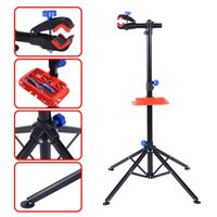 Wholesale Pro Bike Adjustable quot To Cycle Bicycle Rack Repair Stand Tool Tray Red