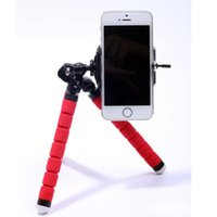 Wholesale Portable Flexible Sponge Octopus Tripod Stand Mount With Holder For Phone Action Camera and Camcorder