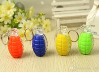 animal crossing plush toys - Keychain flash grenade baubles luminous toys luminous toys stall selling goods