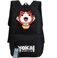 army play - Yokai watch backpack DS boxing cat school bag Cool daypack Quality schoolbag New game play day pack
