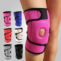 knee brace and support - Adjustable Knee Brace Pad Support Patella Sports Equipment Knee Protector Wraps Kneecap for Men and Women