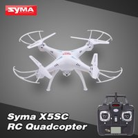 Wholesale Syma X5SC RC helicopter Camera Drone with MP HD Camera G CH Axis Degree Eversion quadcopter