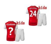 arsenal kids t shirts - Top thai quality adult Arsenal Kids T shirt Quarter adults tees