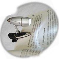 Wholesale LED bullet clip book light new reading lamp Brand New Unique Mini Clip On Flexible Bright LED Light Book Reading Lamp