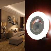 Wholesale Eye Protection LED PIR Motion Activated Sensor Security Wall Lamp Night Light for Corner Corridor