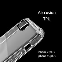 acrylic corner - Iphone Cover Soft Air Cushion For Iphone7 Plus Corners Slim Double layer TPU Acrylic Hybrid Bumper Drop Resistance Shockproof Protective