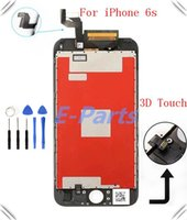 Wholesale best quality Original FOG For iphone S inch LCD Display Touch Screen Digitizer Full Assembly Replacement With D Touch Tool
