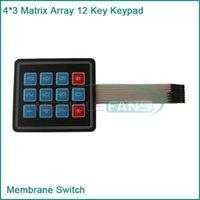 arduino c - Matrix Array Key Membrane Switch Keypad Keyboard for Arduino AVR PI C