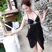 ban han - Swimwear Bikini swimsuit summer new Ms tuxedo swimsuit bikini swimsuit Miss Han Ban mesh swimsuit