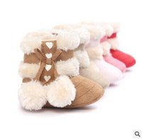ankle walker - Fashion Baby First Walkers Shoes Baby Shoes Soft Bottom Toddler Warm Snow Boots for Baby Girls Boys color for choose
