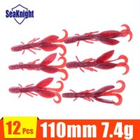 bass brushes - Soft Fishing lures for Black Bass Bait Red Color Brush Hogs SoftBait mm g Pieces