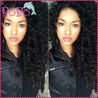 Wholesale Full Lace Human Hair Wig With Natural Baby Hair Brazilian Loose Deep Wave Glueless Wavy Virgin Hair Full Front Lace Wigs On Sale