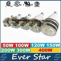 Wholesale Hot Slae LED High Bay Lights Cree E27 E40 Hook W W W W W W W Led Warehouse Garage Light Gas Station