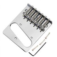 Wholesale Chrome TOPLOADER Telecaster Bridge for Fender Tele Guitar Parts