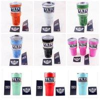 Wholesale Hot Sale YETI Rambler Tumbler Cup oz oz YETI Cups Cars Beer Mug Large Capacity Mug Tumblerful