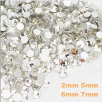 Wholesale 2000pcs mm mm mm Nail Art Resin Rhinestone crystal wedding dress appliques rhinestone Decoration hot fix crystals
