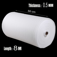Wholesale m mm Protective EPE Foam Packing Roll Laser Warp Shipping Pre cut Mail Packing Film Material Verpakkings Materiaal