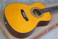 Wholesale new solid acoustic guitar s om model guitar