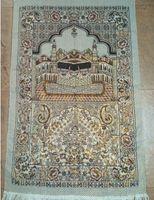 Wholesale 100pcs cm cm Islamic Prayer Rug Musallah Muslim Prayer Mat Home Carpets