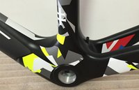 Wholesale Top sale The style carbon Camouflage frameset of Peter Sagan carbon bike frames with BB30 BB68 bike carbon Camouflage frameset