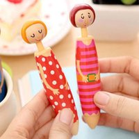 Wholesale Feature Type Cute cartoon shape Pens Use Office School Pens Student fashion prize Gift Table decorations Writing Point mm Body