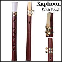 Wholesale Xaphoon XAPH Pocket Sax Poche Tenor Alto Saxophone Wind Musical Instrument Mini Zaphoon Saxo Bolsillo Saxofone C key POCKET SAX