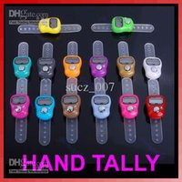 Wholesale Mini Digit LCD Electronic Digital Golf Finger Hand Held Tally Counter Muslim Finger Ring Tally Counter