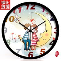 animated student - Watch animated children s real cute cartoon baby room quartz clock student bedroom wall clock
